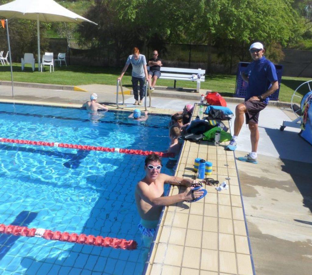 Triathlon Training Camp Albury Sep 2015
